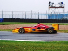 Alessandro Pier Guidi during the 2008 Donington Park weekend.