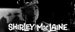 Shirley MacLaine in the trailer for the film.
