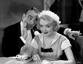 Lowell Sherman and Constance Bennett in What Price Hollywood? (1932)