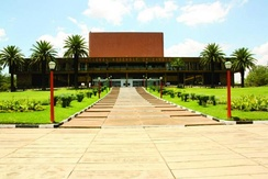 Zambia National Assembly building in Lusaka