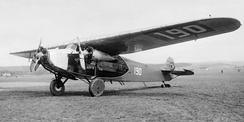 Fokker V.VIIb 3-m (CH-190) operated by Ad Astra Aero
