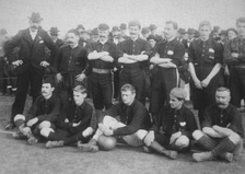 Albion FC football team in 1898.