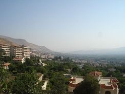 Zabadani resort near Damascus