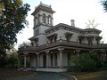 The Bidwell Mansion, built in 1865, Chico, California