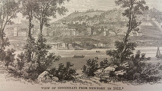 Cincinnati in 1812 with a population of 2,000[16]