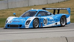The Scott Pruett / Memo Rojas BMW Riley of Chip Ganassi Racing at Road America during a 2012 Rolex Sports Car Series race