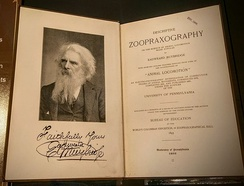 Title page of the first edition of Descriptive Zoopraxography