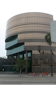 Directors Guild of America building on Sunset Boulevard.