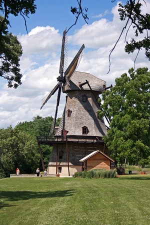 The Fabyan Windmill in Geneva is on the National Register of Historic Places in Kane County, Illinois.