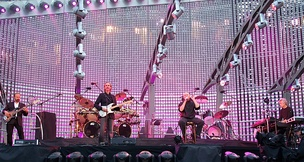 Genesis performing at Old Trafford, Manchester in 2007