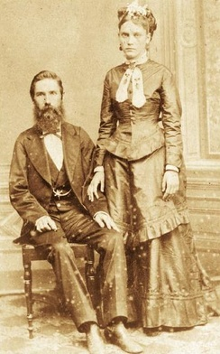 Confederate immigrants Joseph Whitaker and Isabel Norris