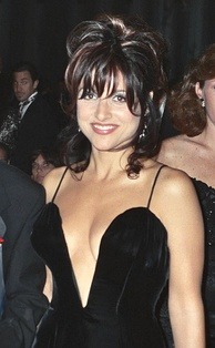 Louis-Dreyfus at the 47th Emmy Awards ceremony in September 1995