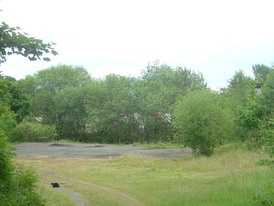 The former goods yard of Llanymynech