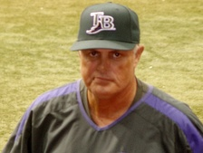 Lou Piniella served as manager of the Devil Rays from 2003–2005.