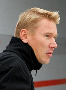 Mika Häkkinen won his first title with McLaren.