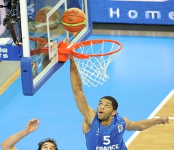Nicolas Batum gave Team France much support to win Silver at the FIBA EuroBasket 2011
