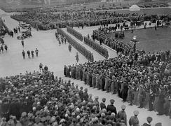 Opening of the Northern Ireland parliament buildings (Stormont) in 1932