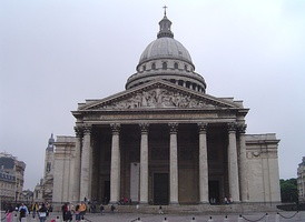 Condorcet was symbolically interred in the Panthéon (pictured) in 1989.