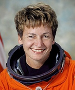 Peggy Whitson, class of 1986, NASA astronaut