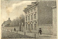 Third Presidential Mansion: President's House, Philadelphia, Pennsylvania. Occupied by Washington: November 1790 – March 1797. Occupied by Adams: March 1797 – May 1800.