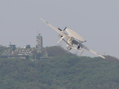 ROCAF E-2 take-off from Zhihang Air Force Base