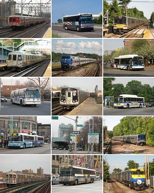 A sampling of MTA services