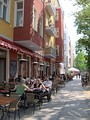 Simon-Dach-Straße is a popular destination, with numerous bars.
