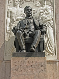 William C. Maybury Monument by Adolph Alexander Weinman in Grand Circus Park