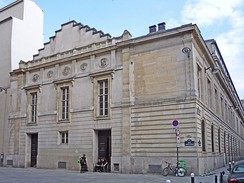 Former Conservatoire building (until 1911) in the 9th arrondissement of Paris, which now houses the CNSAD (48°52′23″N 2°20′49″E / 48.873074°N 2.347001°E / 48.873074; 2.347001)