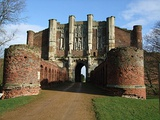 The gatehouse of Thornton Abbey from the outside