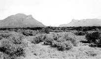 Threemile Mountain (on the left), looking northwest (USGS photo by George B. Richardson, 1913)
