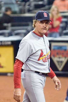 Tony La Russa is the 3rd winningest manager in MLB history