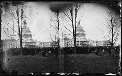 U.S. Capitol in 1869 at the time Tyner was elected to the U.S. House of Representatives
