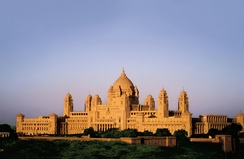 A part of the Umaid Bhawan Palace in Jodhpur is a Taj luxury hotel and it is a member of the Leading Hotels of the World