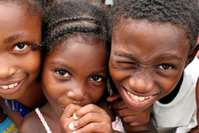 Afro-Colombian children