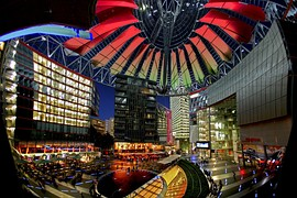 Potsdamer Platz houses two large multiplex cinemas
