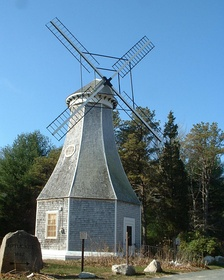 The windmill at the Aptucxet Trading Post