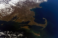 View of Cape Cod from the ISS