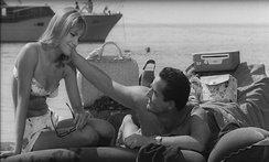 Catherine Spaak and Gassman in The Easy Life (1962)