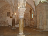 The Cenacle on Mount Zion, claimed to be the location of the Last Supper and Pentecost.