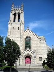 Church of the Holy City in Washington, D.C. is tied to the New Church.
