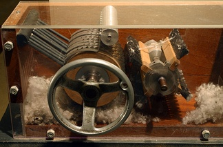 The cotton gin, invented by Eli Whitney, revolutionized Southern agriculture.