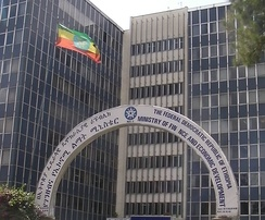 The Ministry of Finance and Economic Development headquarters