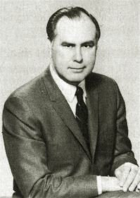 Frederick P. McGinnis (1921–2012) was the university's first president. McGinnis served for over a decade until Alaska governor William A. Egan appointed him to head the Alaska Department of Health and Social Services.