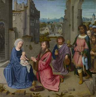 Gerard David, Adoration of the Kings, National Gallery, London, 1515–1523