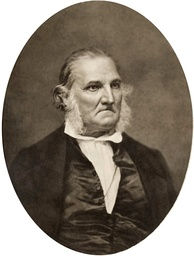 Audubon in later years, c. 1850