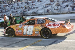 2009 Nationwide Series car of Cup Series regular Kyle Busch, who won the Nationwide Series championship that year