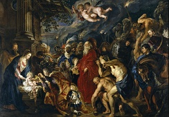 The Adoration of the Magi, Peter Paul Rubens, 1609 and 1628-29