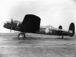 Lancaster Mark II of 61 Squadron at RAF Syerston
