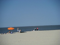 Lewes Beach on the Delaware Bay